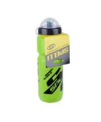 Фляга для велосипеда и спорта Spelli 800 мл. с защитной крышкой (зеленая)