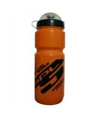 Фляга для велосипеда и спорта Spelli 800 мл. с защитной крышкой (оранжевая)