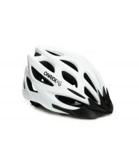 Шлем ONRIDE Mount матовый белый с козырьком