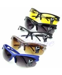 Очки велосипедные с пластиковой дужкой защита UV 400