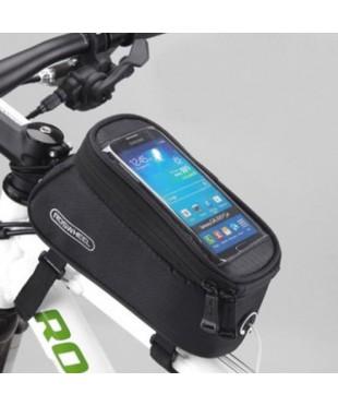 """Велосипедная сумка - чехол на раму ROSWHEEL для мобильного телефона 5"""" - 5.5"""" размер L"""