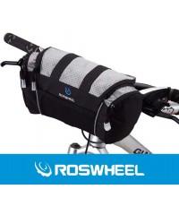 Велосипедная сумка на руль ROSWHEEL походная, объем 5L байкпакинг