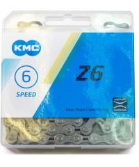 Ланцюг KMC Z6 6 швидкостей 116 ланок сірий-коричневий