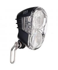 Фара для динамо генератора AXA Echo 15 Switch Front Light