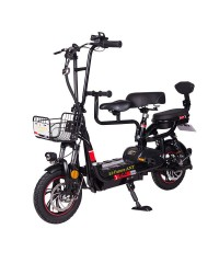 Электрический складной скутер el-future ant 350вт 48v 12ah