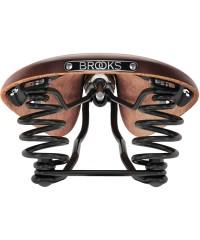 Сідло шкіряне BROOKS FLYER BROWN з пружинами