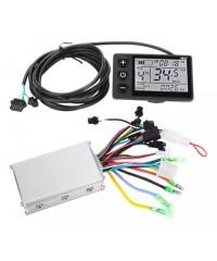 Контролер для электричного велосипеда 36-48V 250-350W з ЖК-дисплеєм